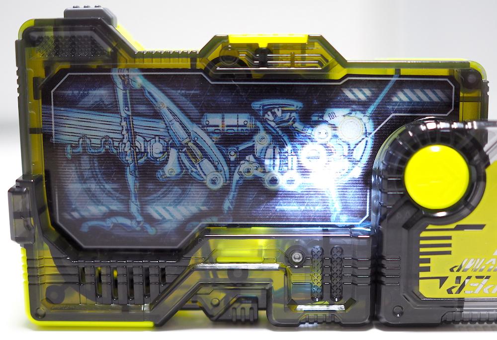 DXライジングホッパープログライズキー 発光