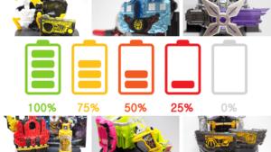 仮面ライダーのおもちゃで使うおすすめの電池を紹介します!
