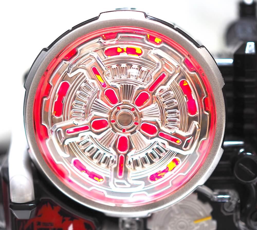 DXビルドドライバー発光