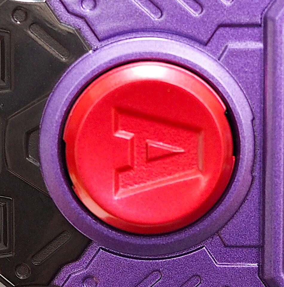 DXデンジャラスゾンビガシャット Aボタン